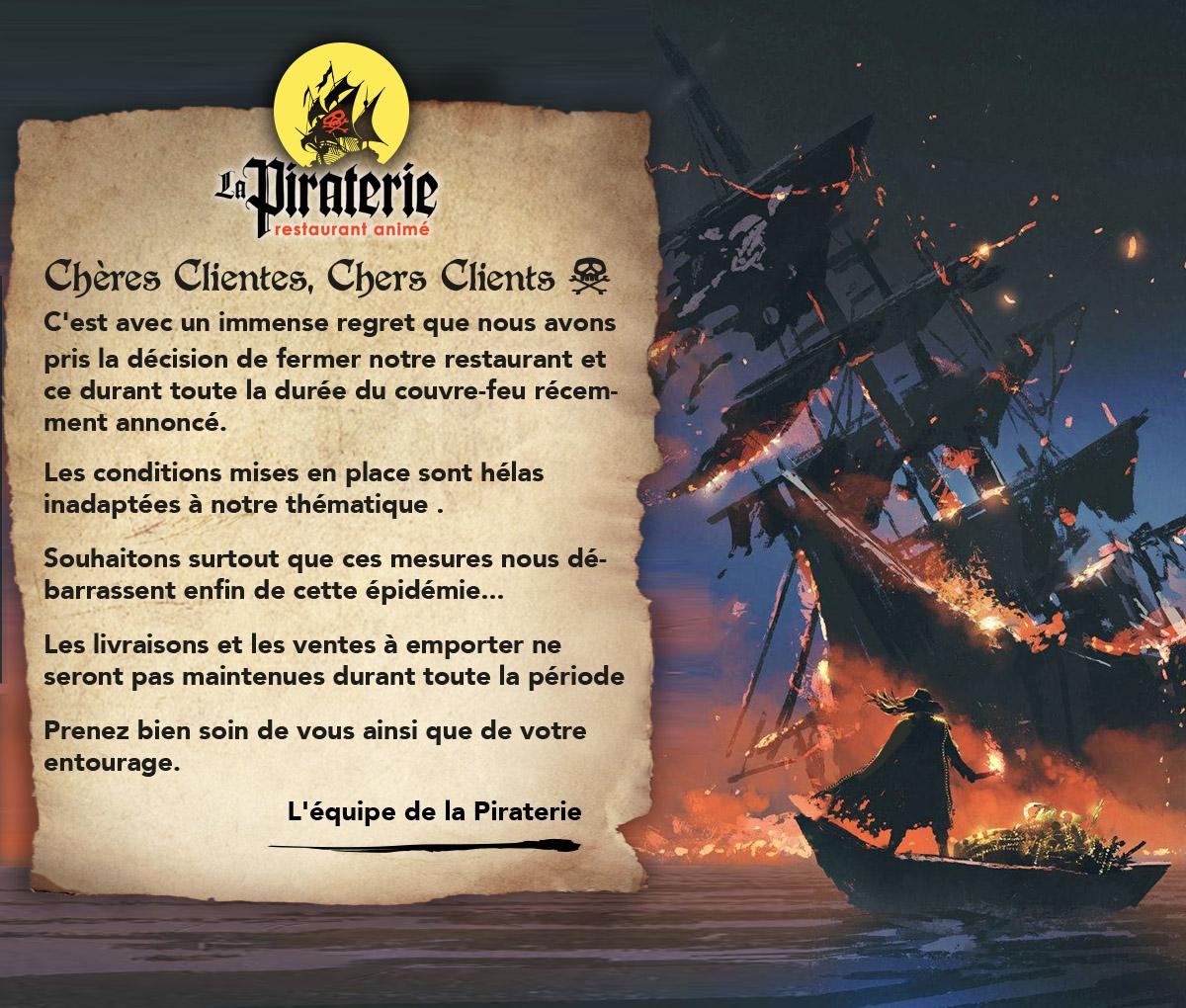 La Piraterie - restaurant à thème